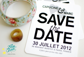 Save the date by Pugly Pixel