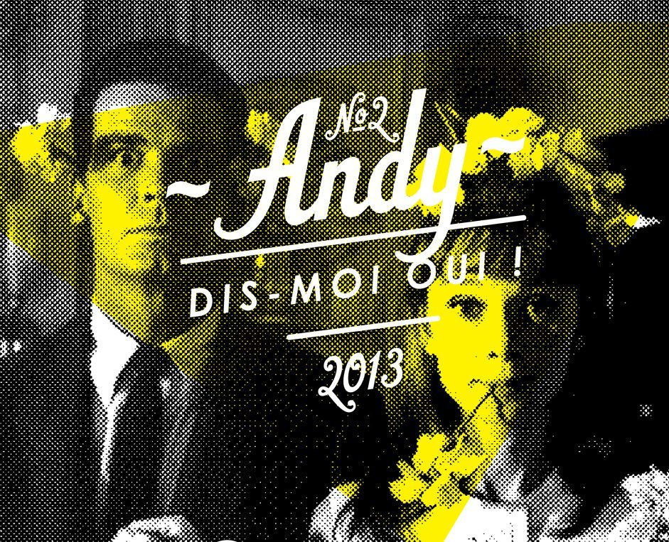 Andy ! Save the date !