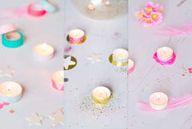 DIY – Candle lights