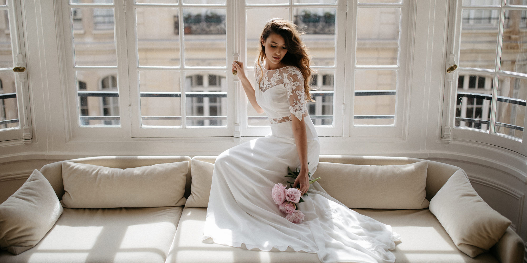 Sophie Sarfati : sa collection de robes de mariée 2018