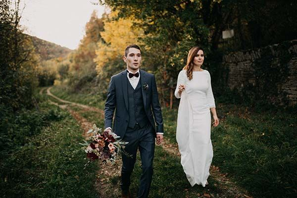 mariage nature automnal Alsace