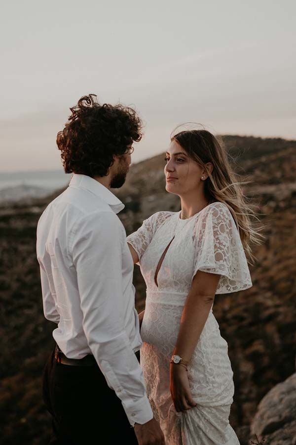Shooting intimiste post-mariage Marseille