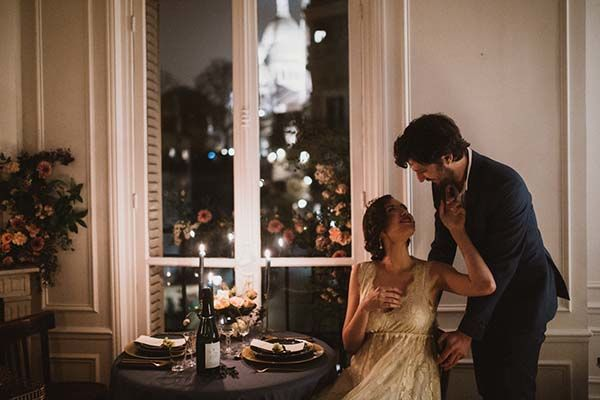 Inspiration shooting mariage intimiste Paris
