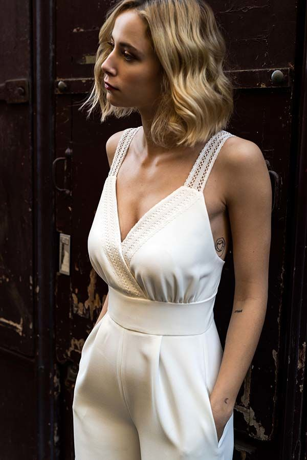 Harpe Pari robes mariée chic contemporaines
