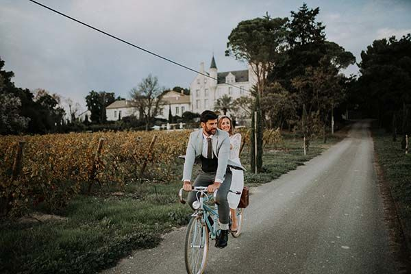 Idées mariage cool intime Languedoc