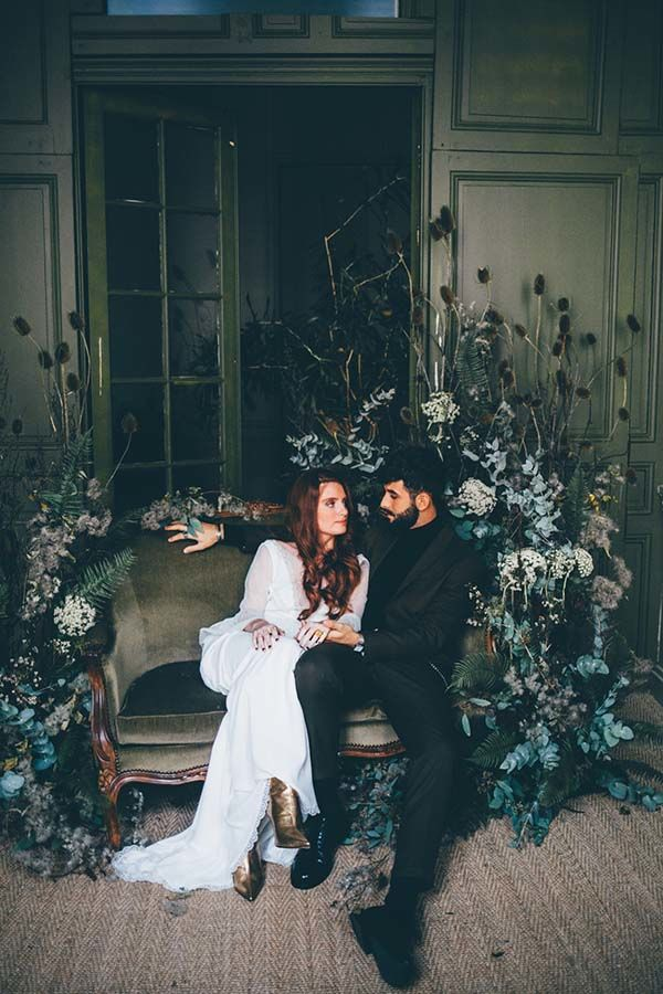 Inspirations mariage green romantique