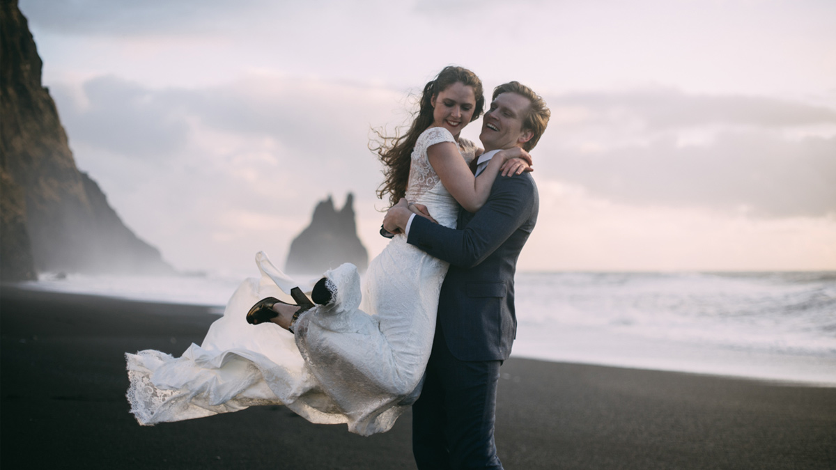 (Français) Inspirations pour un shooting mariage Day After en Islande